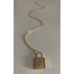 Repurposed Louis Vuitton Necklace